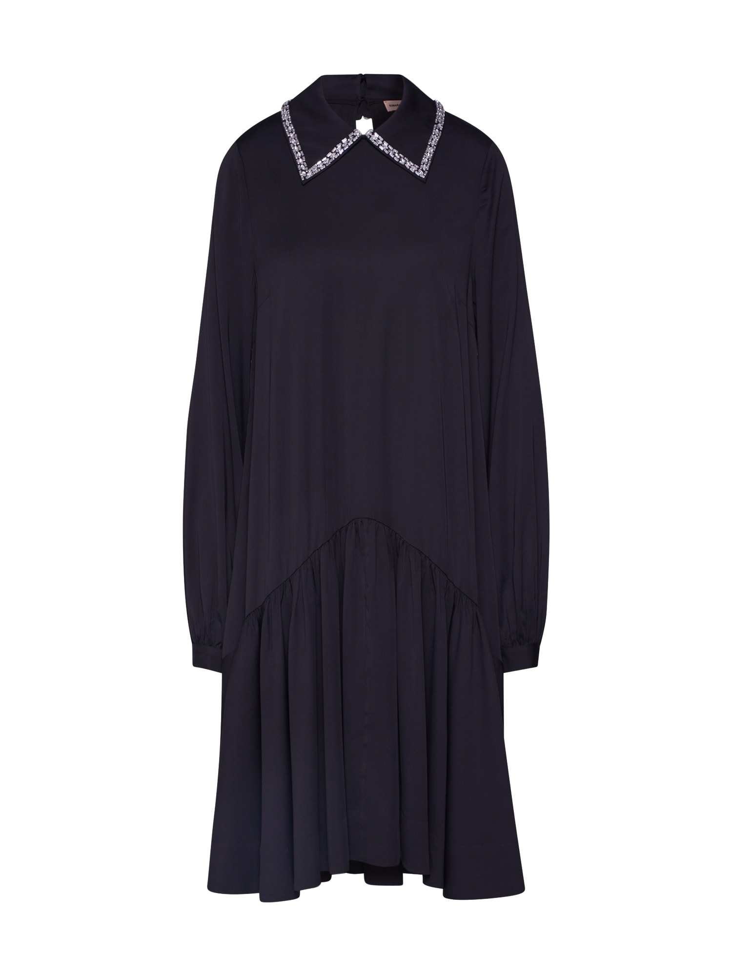 Custommade Košilové šaty  černá