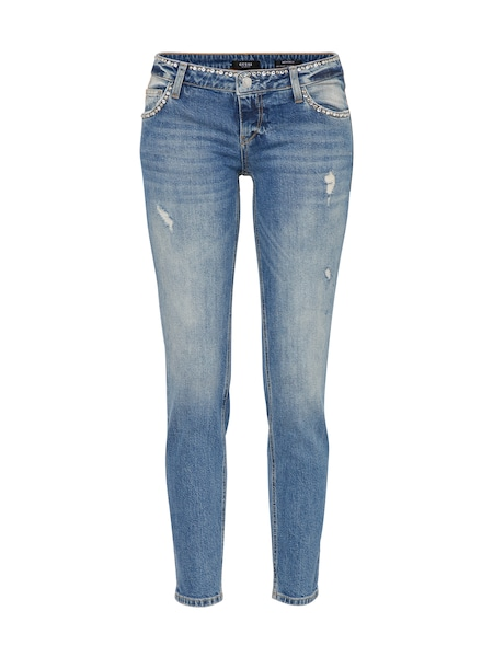 Hosen für Frauen - GUESS Jeans 'BEVERLY' blue denim  - Onlineshop ABOUT YOU