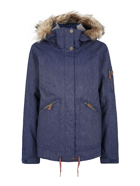 Jacken - Sport Jacke 'MEADE DENIM' › Roxy › blau  - Onlineshop ABOUT YOU