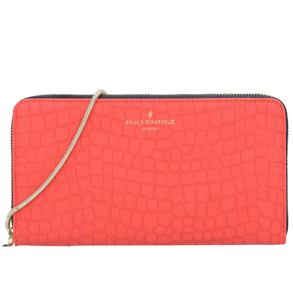 Clutches für Frauen - Clutch 'Connie' › PAULS BOUTIQUE LONDON › rot  - Onlineshop ABOUT YOU