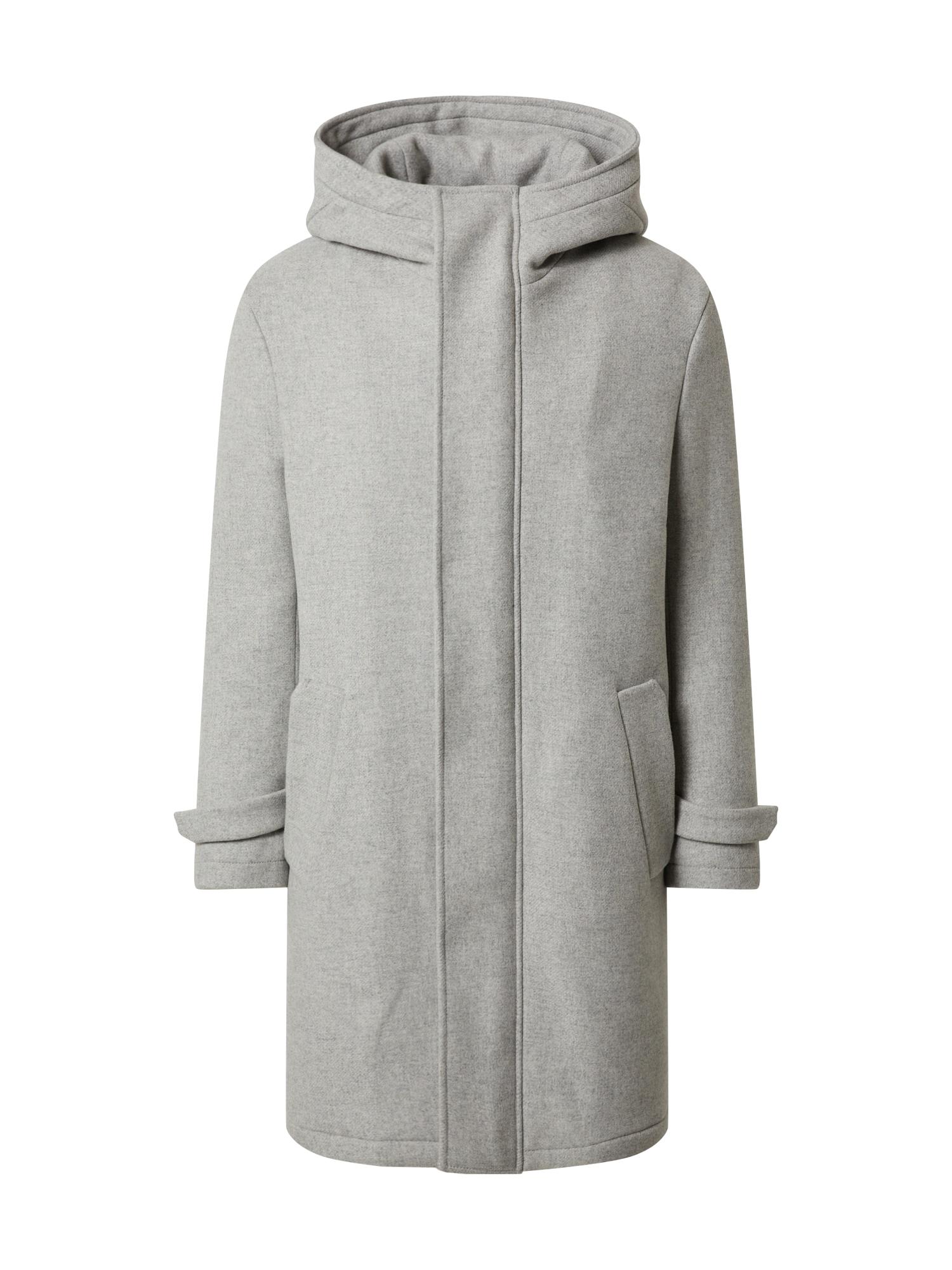 DRYKORN Žieminis paltas 'SECSET_H' margai pilka