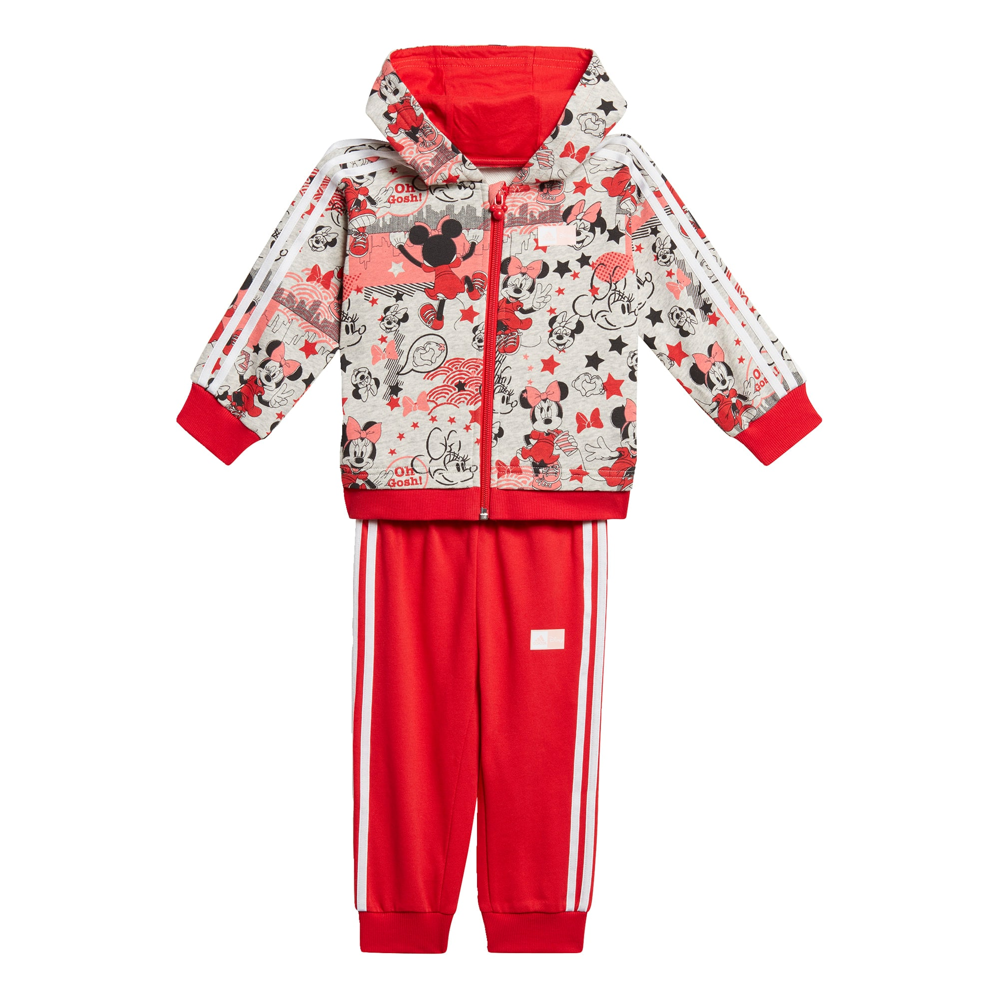 ADIDAS PERFORMANCE Treniruočių kostiumas raudona / mišrios spalvos