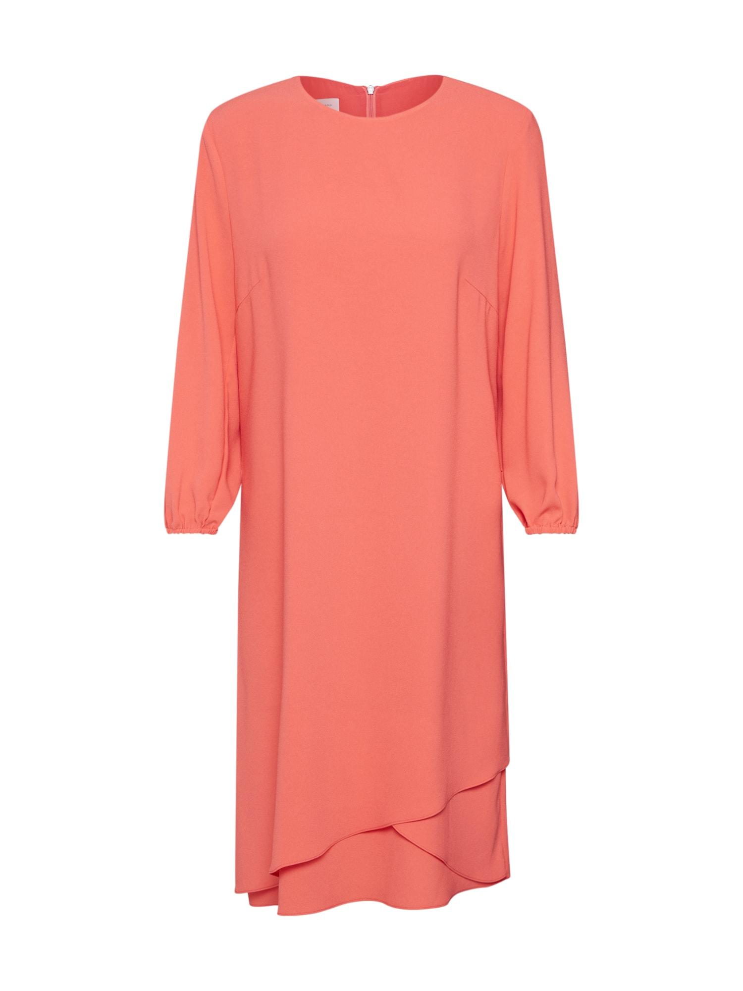 RENÉ LEZARD Koktejlové šaty  červená