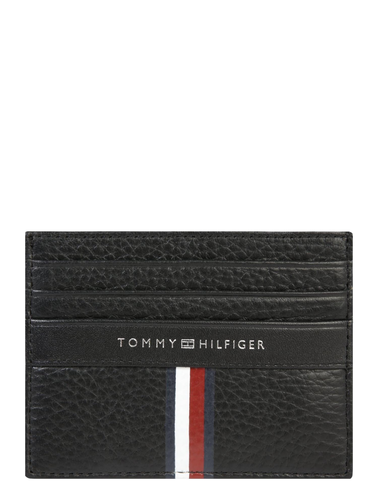 Peněženka Corporate Leather CC Holder černá TOMMY HILFIGER