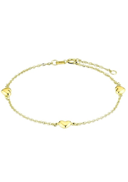 Armbaender - Armband 'Herzen, 2017354' › AMOR › gold  - Onlineshop ABOUT YOU