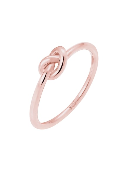 Ringe für Frauen - ELLI Ring 'Knoten' rosegold  - Onlineshop ABOUT YOU