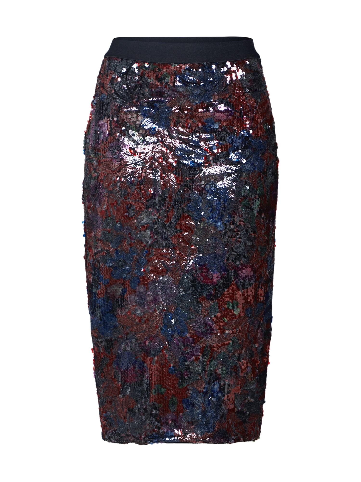 Essentiel Antwerp Sijonas 'Temptation' tamsiai mėlyna / vyšninė spalva