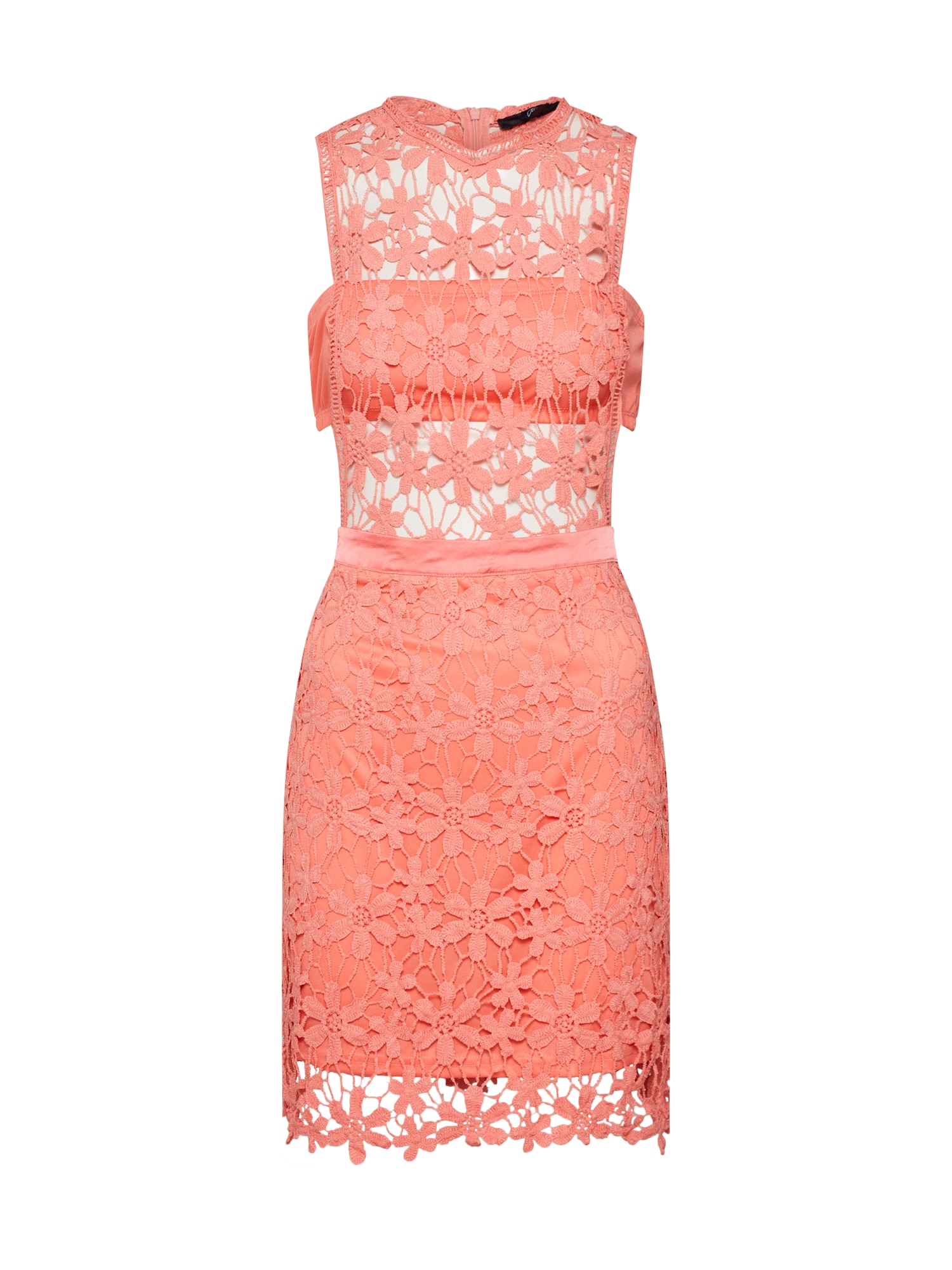 Missguided Rochie de cocktail 'Daisy Coral'  coral