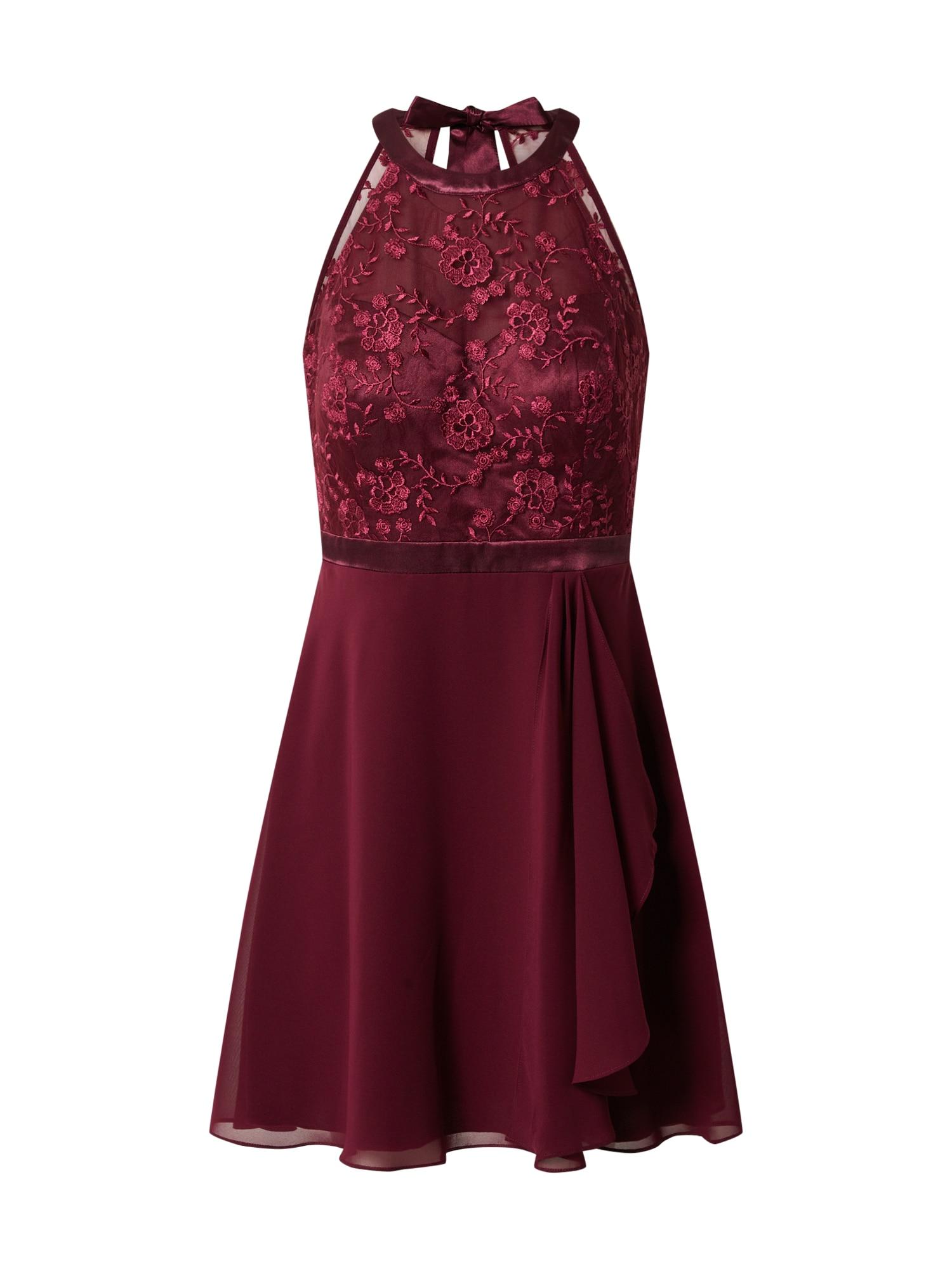 Vera Mont Kokteilinė suknelė vyšninė spalva