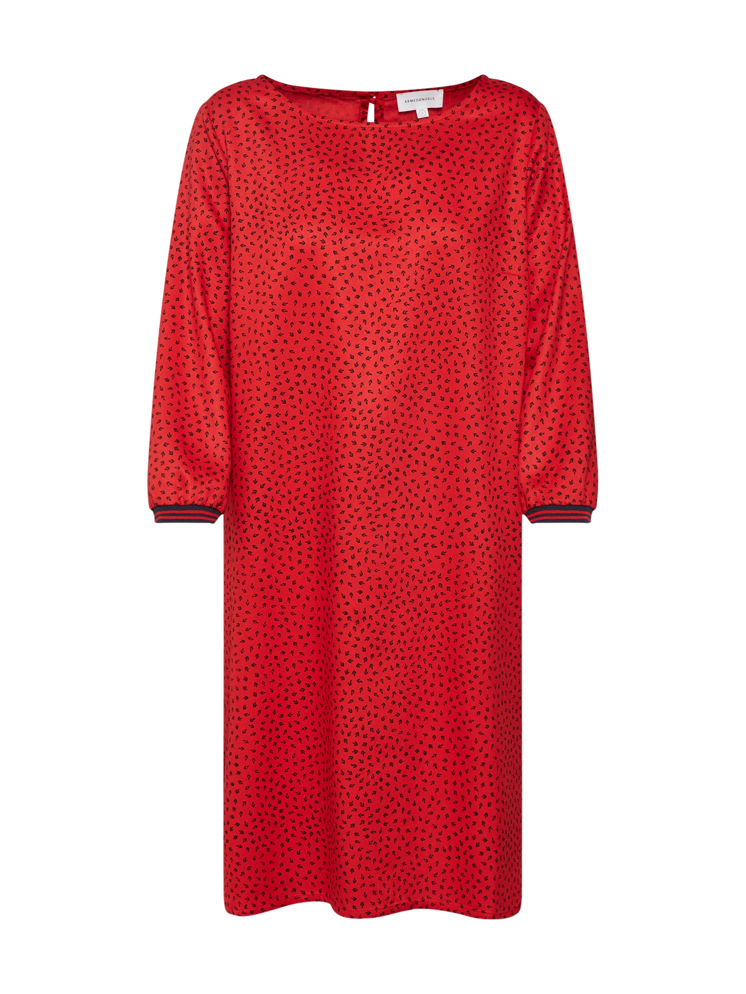 Šaty červená ARMEDANGELS