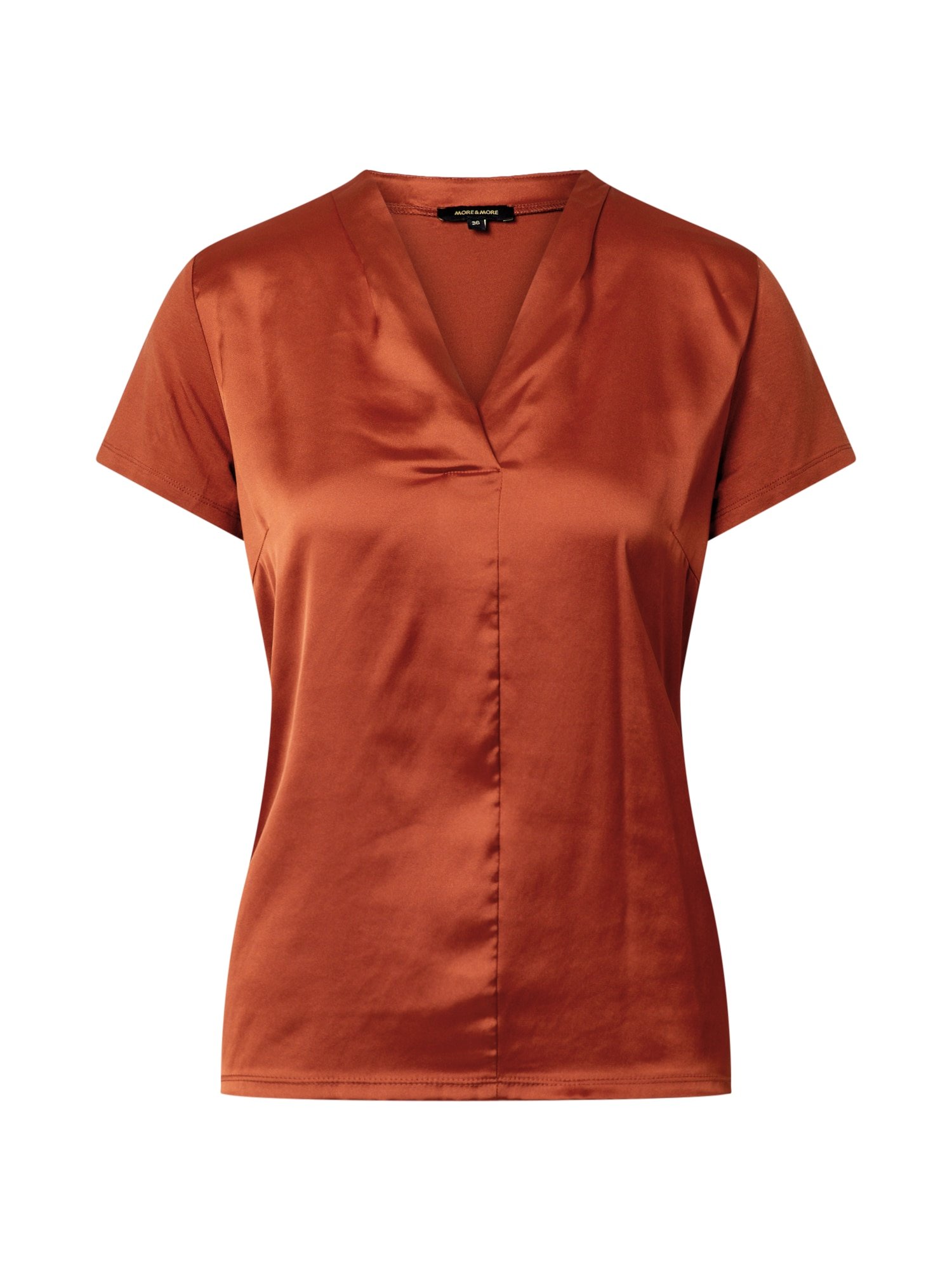 MORE & MORE Marškinėliai oranžinė-raudona