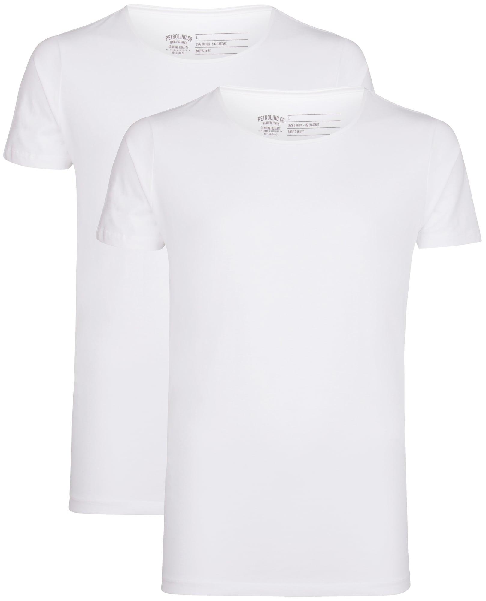 Petrol Industries Tričko  biela