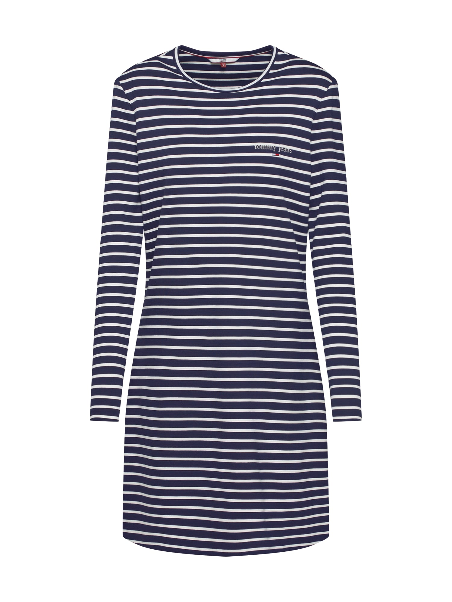 Tommy Jeans Vasarinė suknelė mėlyna / balta