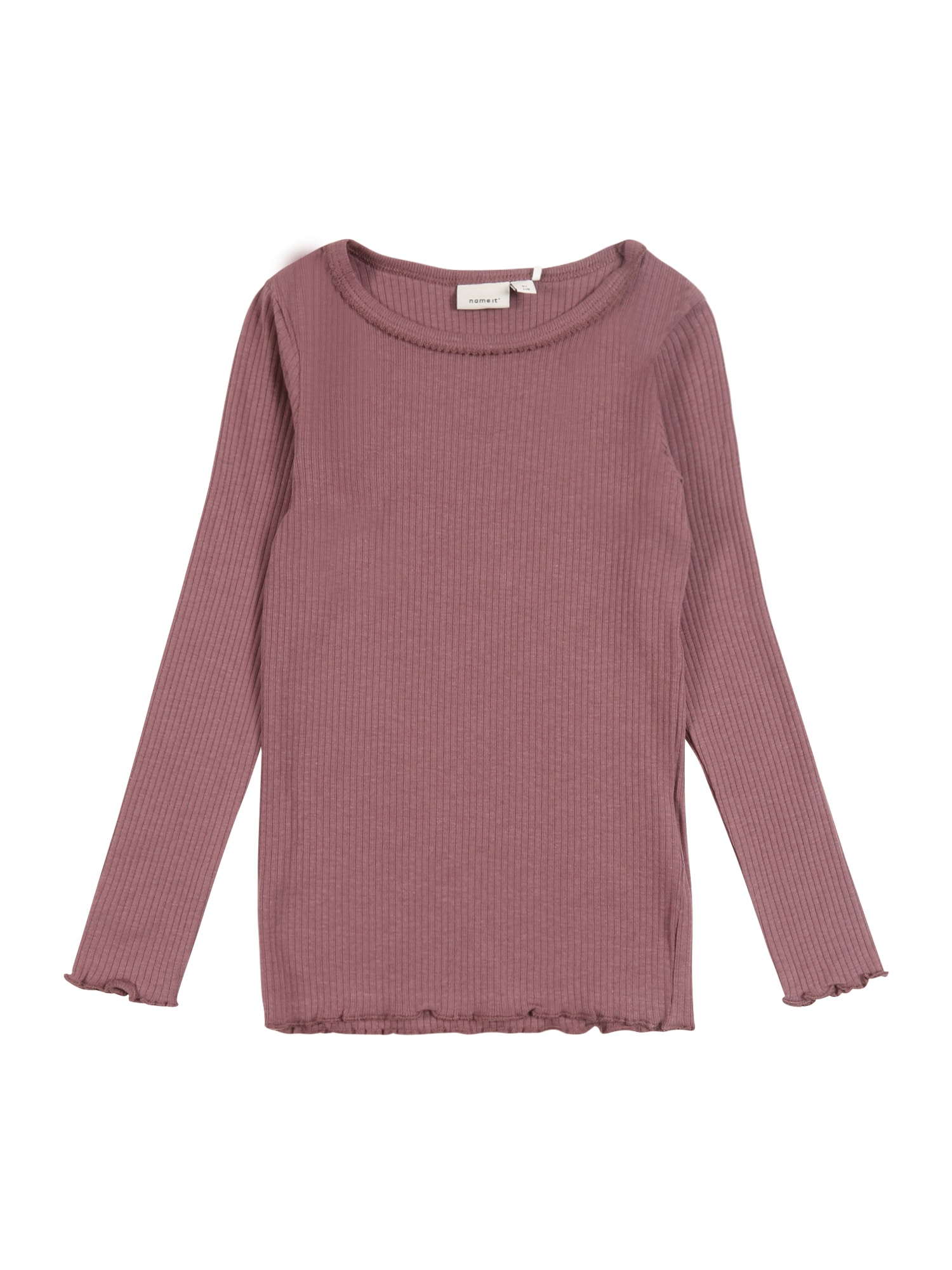 NAME IT Marškinėliai rausvai pilka / rožių spalva