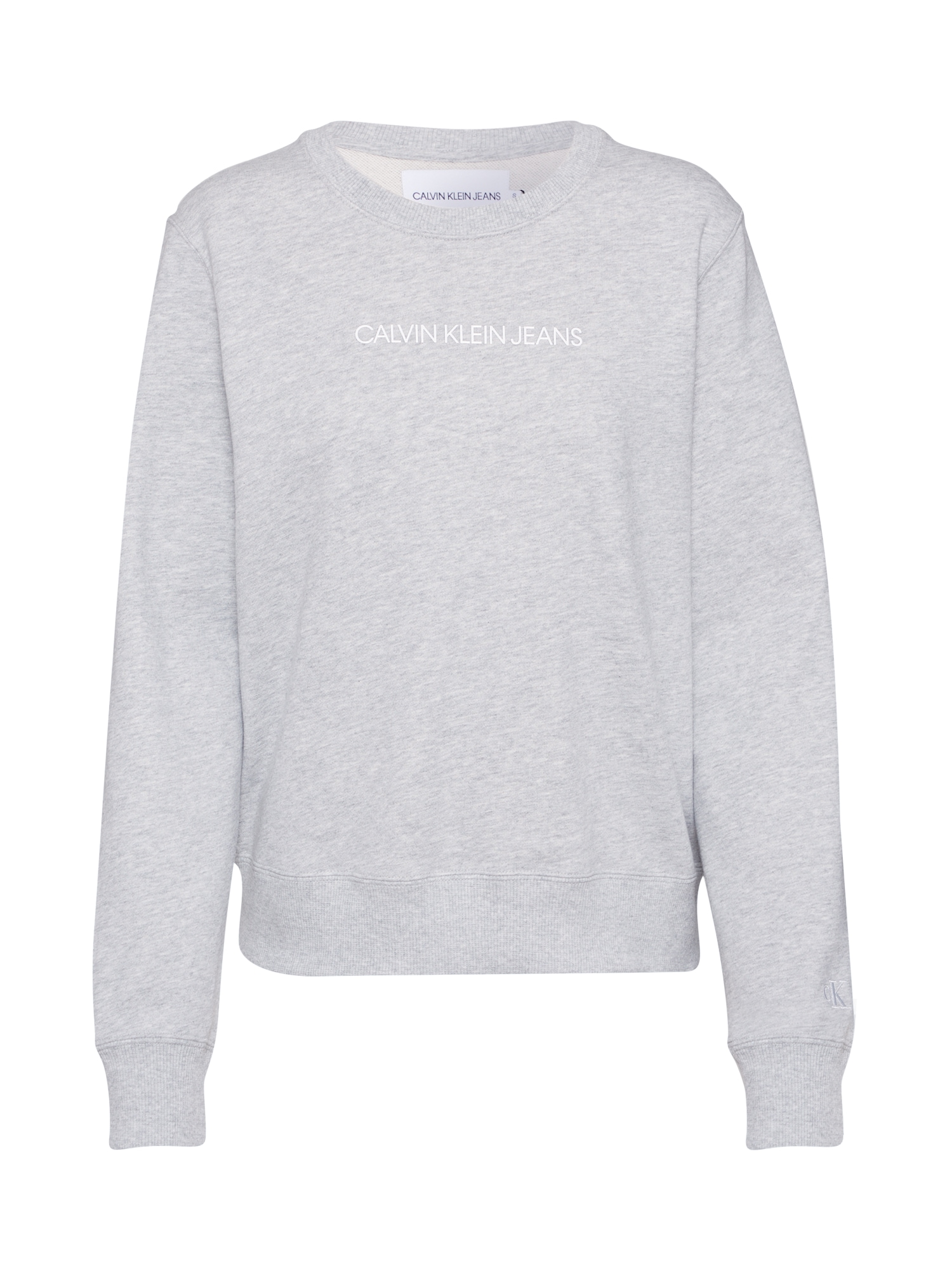 Calvin Klein Megztinis be užsegimo 'INSTITUTIONAL' pilka
