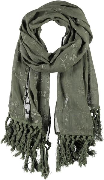 Schals für Frauen - Passigatti Polyester Baumwoll Schal khaki  - Onlineshop ABOUT YOU