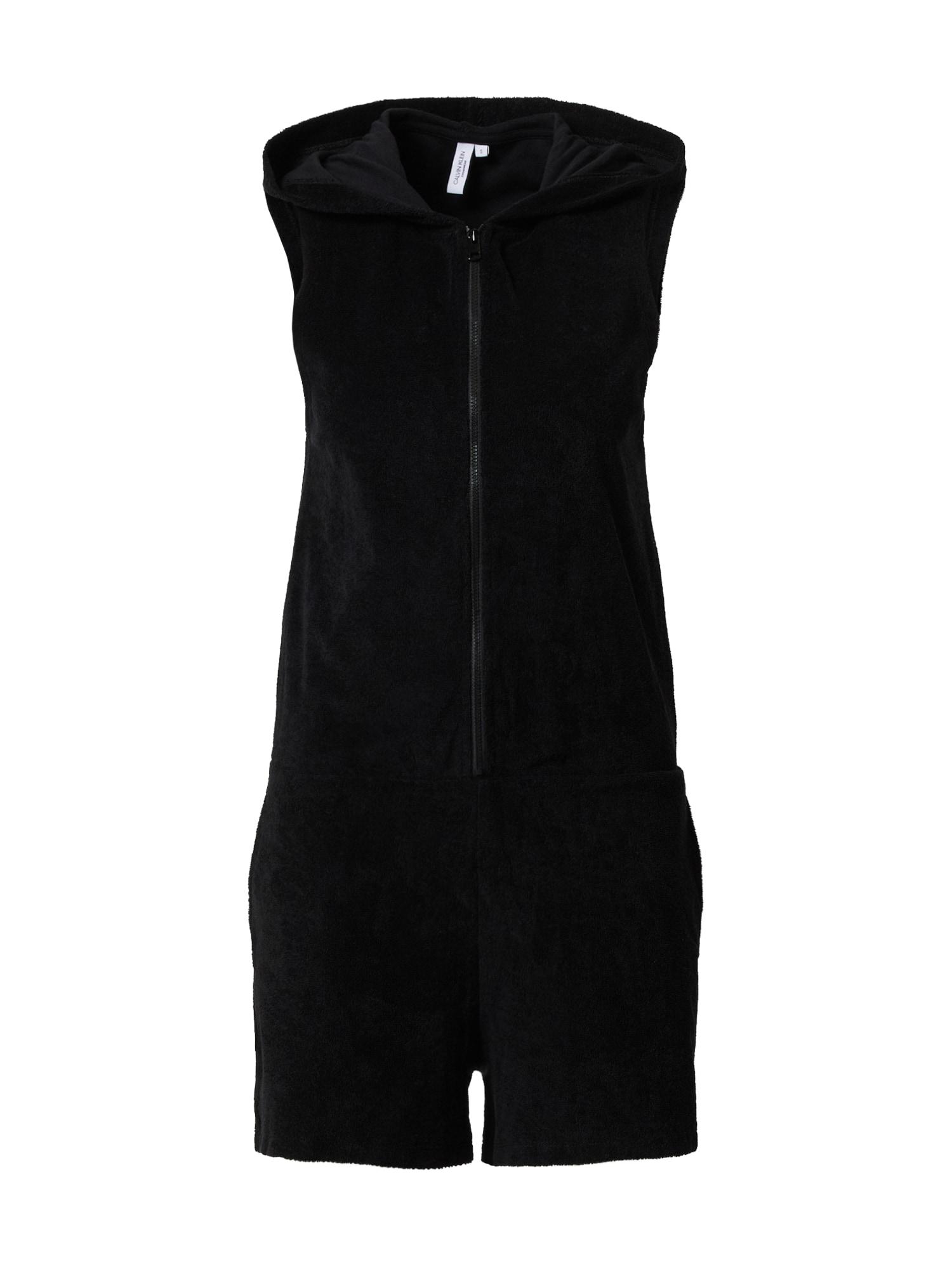 Calvin Klein Swimwear Kombinezono tipo kostiumas 'ROMPER' juoda