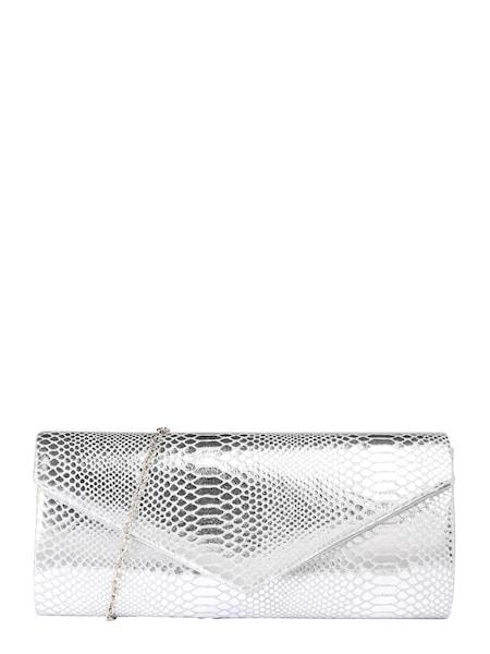 Clutches für Frauen - Mascara Clutch 'Snake' silber  - Onlineshop ABOUT YOU