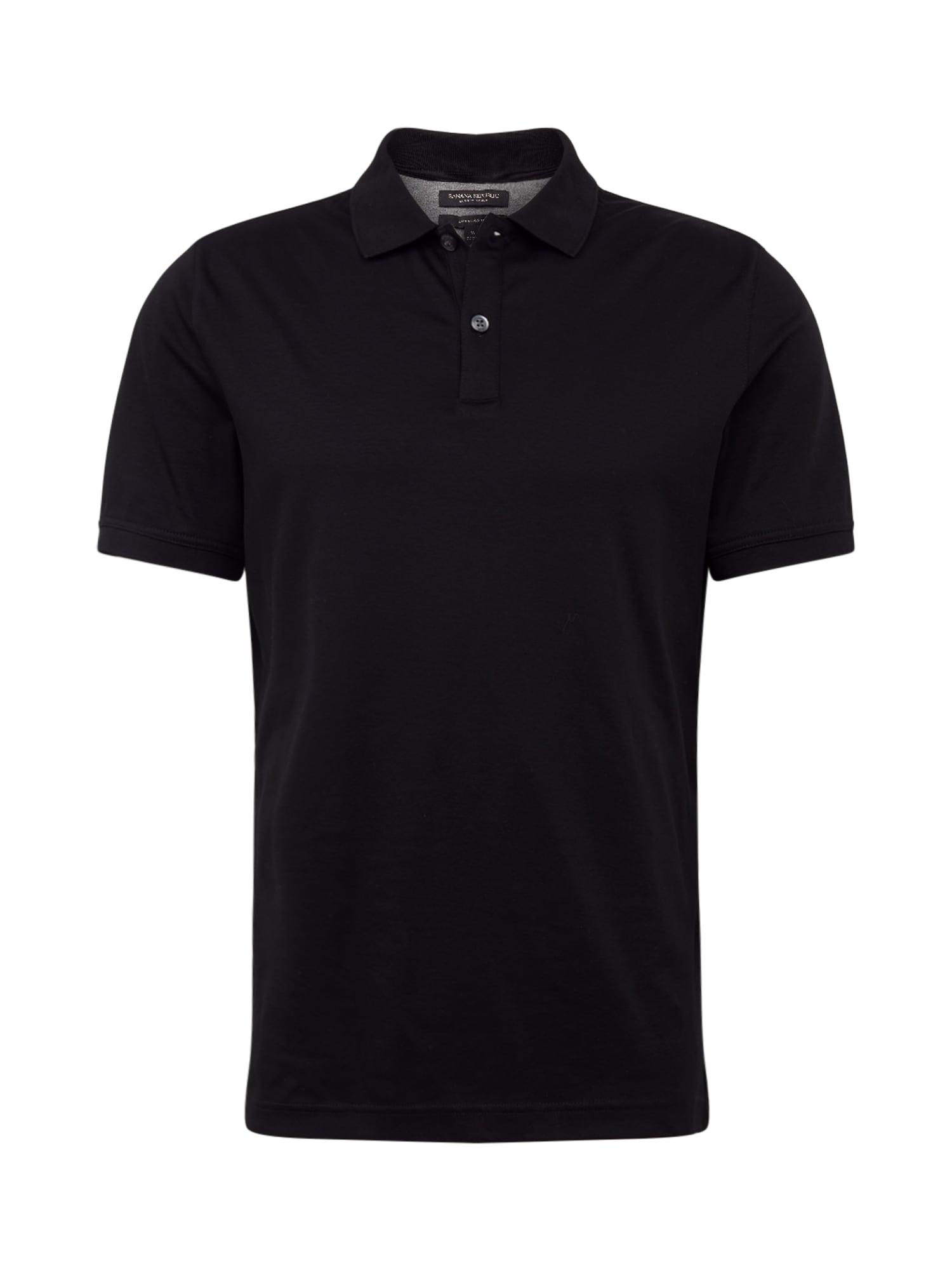 Banana Republic Marškinėliai 'Lux Touch Solid' juoda