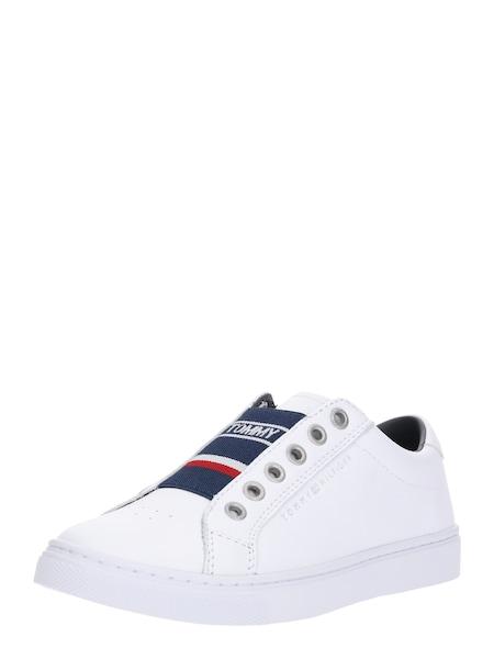 Sneakers für Frauen - TOMMY HILFIGER Sneaker 'Venus 8C1' navy feuerrot weiß  - Onlineshop ABOUT YOU
