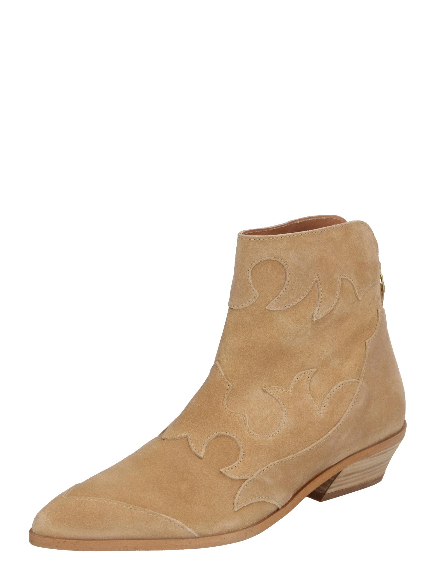 Shoe The Bear Rövid szárú csizmák 'MIQUITA S'  homok
