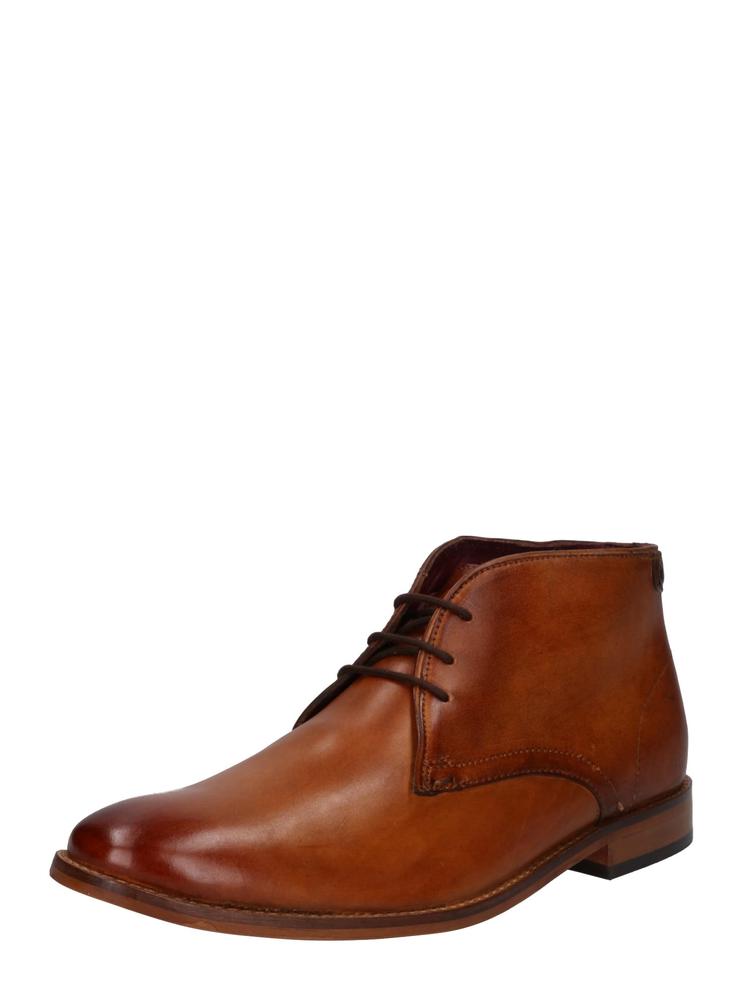 base London Šnurovacie topánky 'CAMEO'  koňak