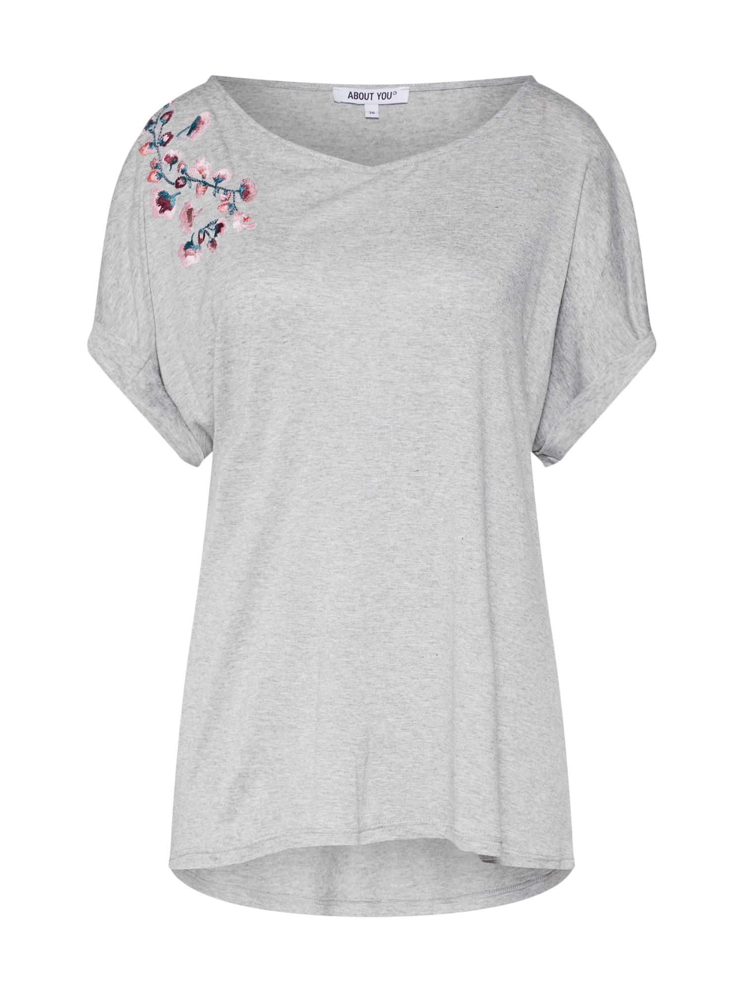 ABOUT YOU Laisvi marškinėliai 'Elea' pilka