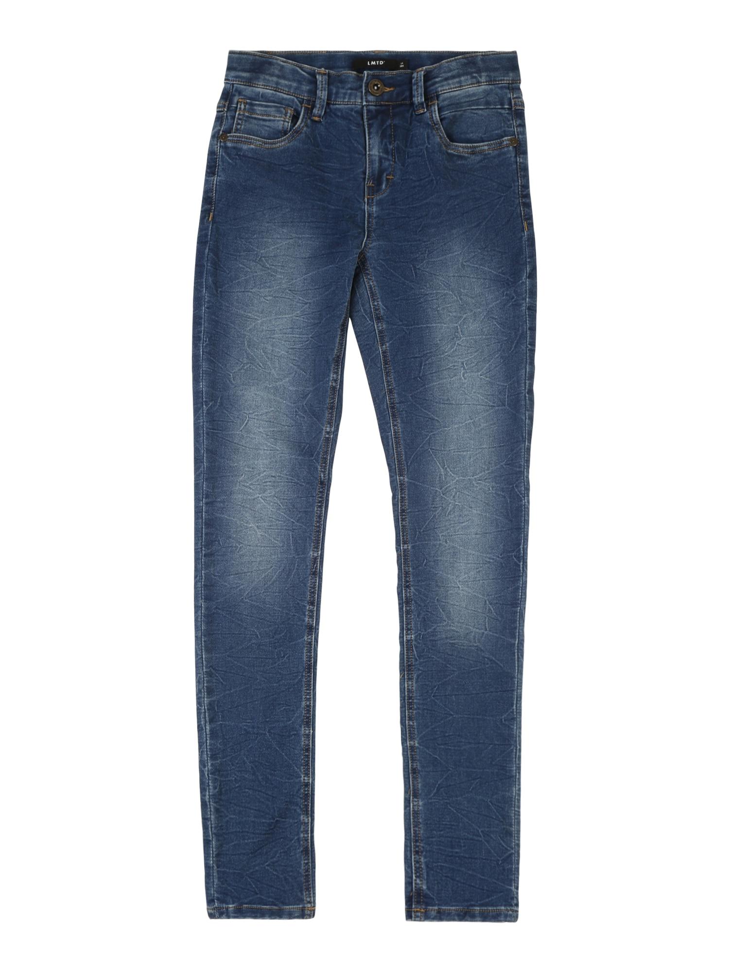LMTD Džinsai tamsiai (džinso) mėlyna