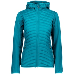 CMP Damen Softshelljacke Fix Hood blau | 08058329508235