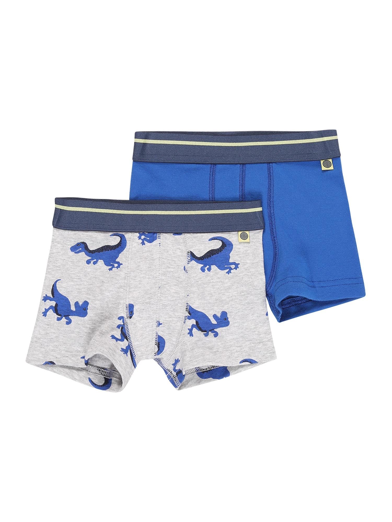 SANETTA Spodní prádlo  šedý melír / modrá