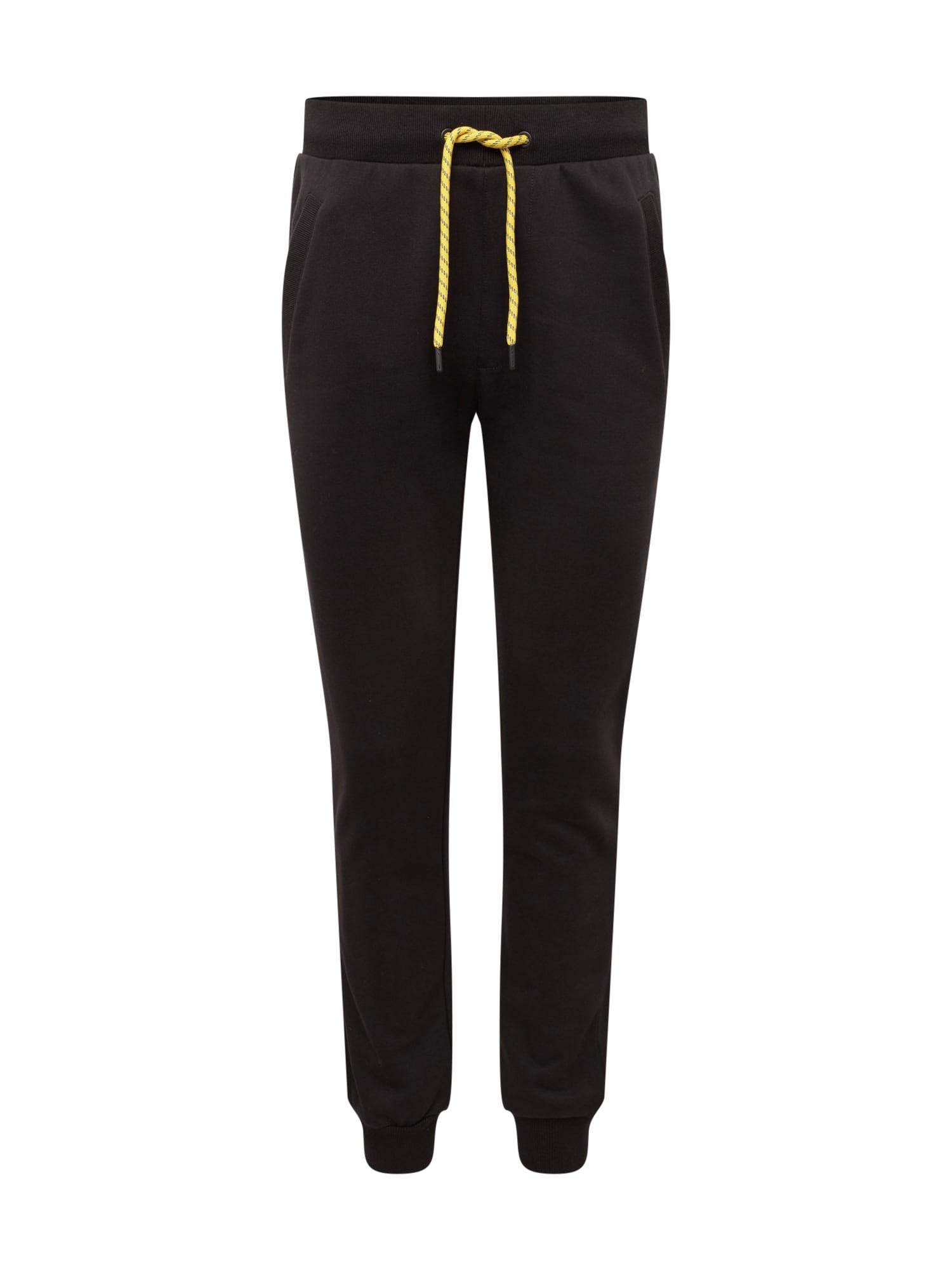 Urban Classics Nohavice 'Contrast Drawstring Sweatpants'  čierna