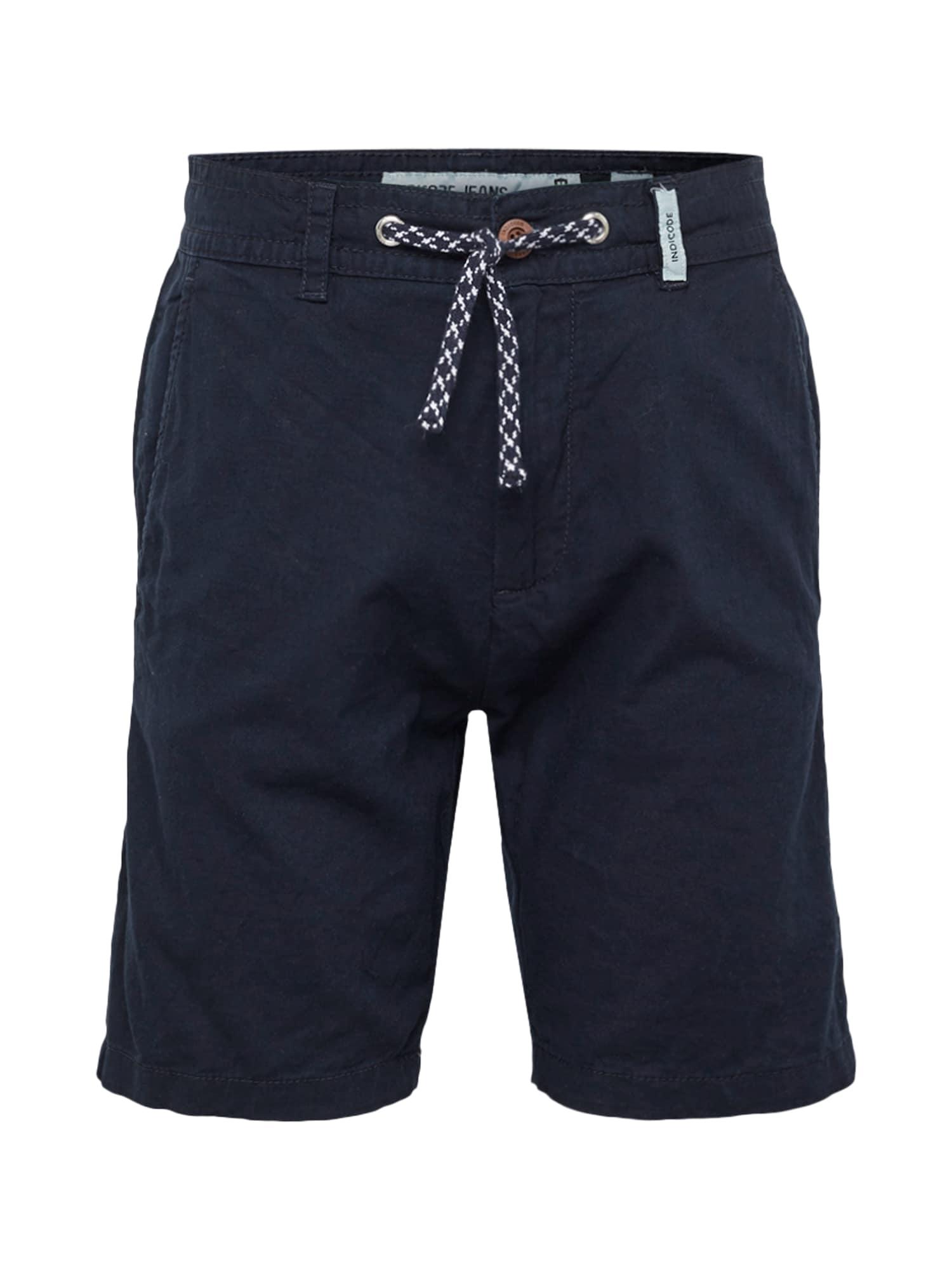 Kalhoty Bovmanville námořnická modř INDICODE JEANS