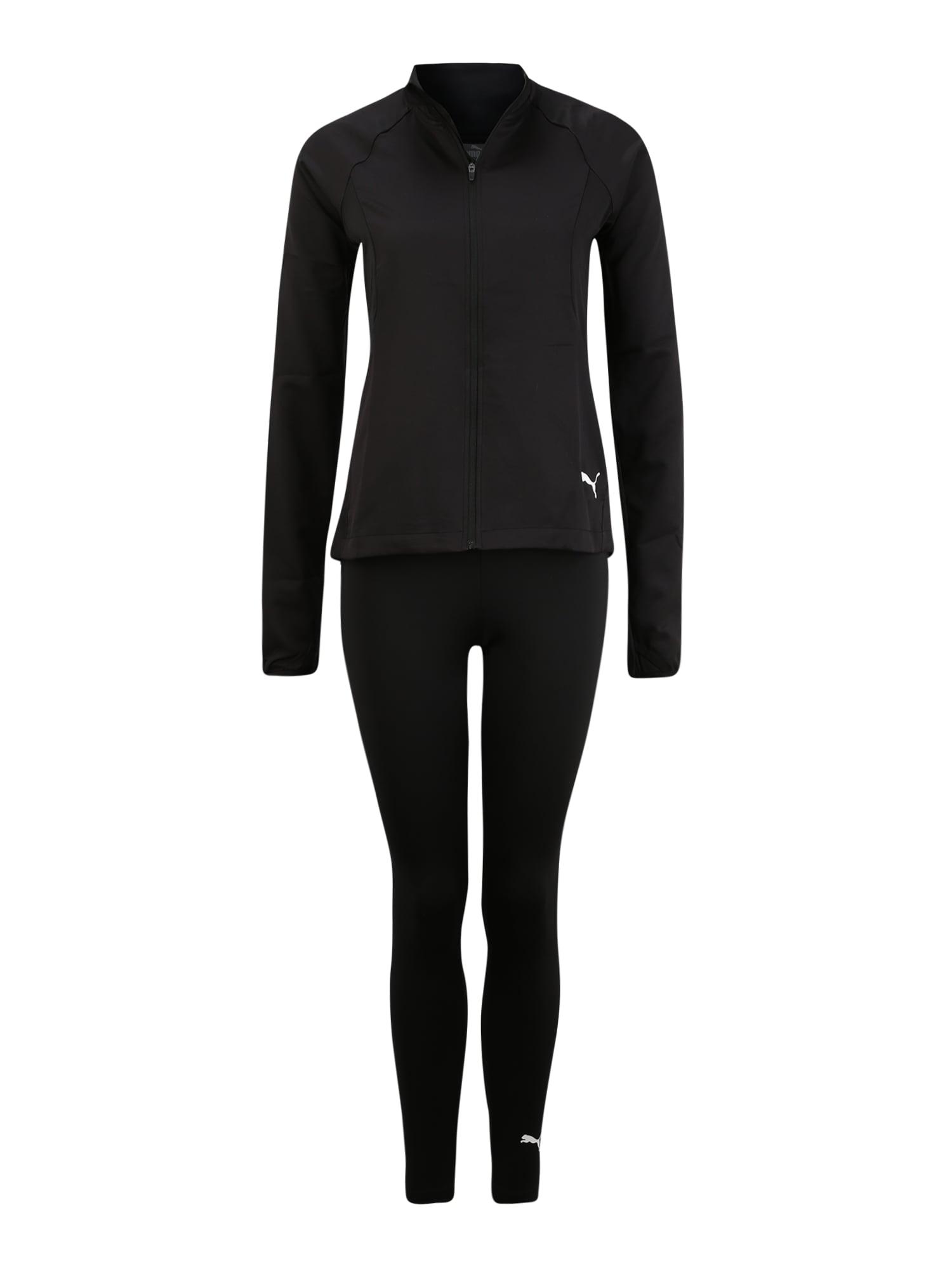 PUMA Sportinis kostiumas 'ACTIVE' juoda