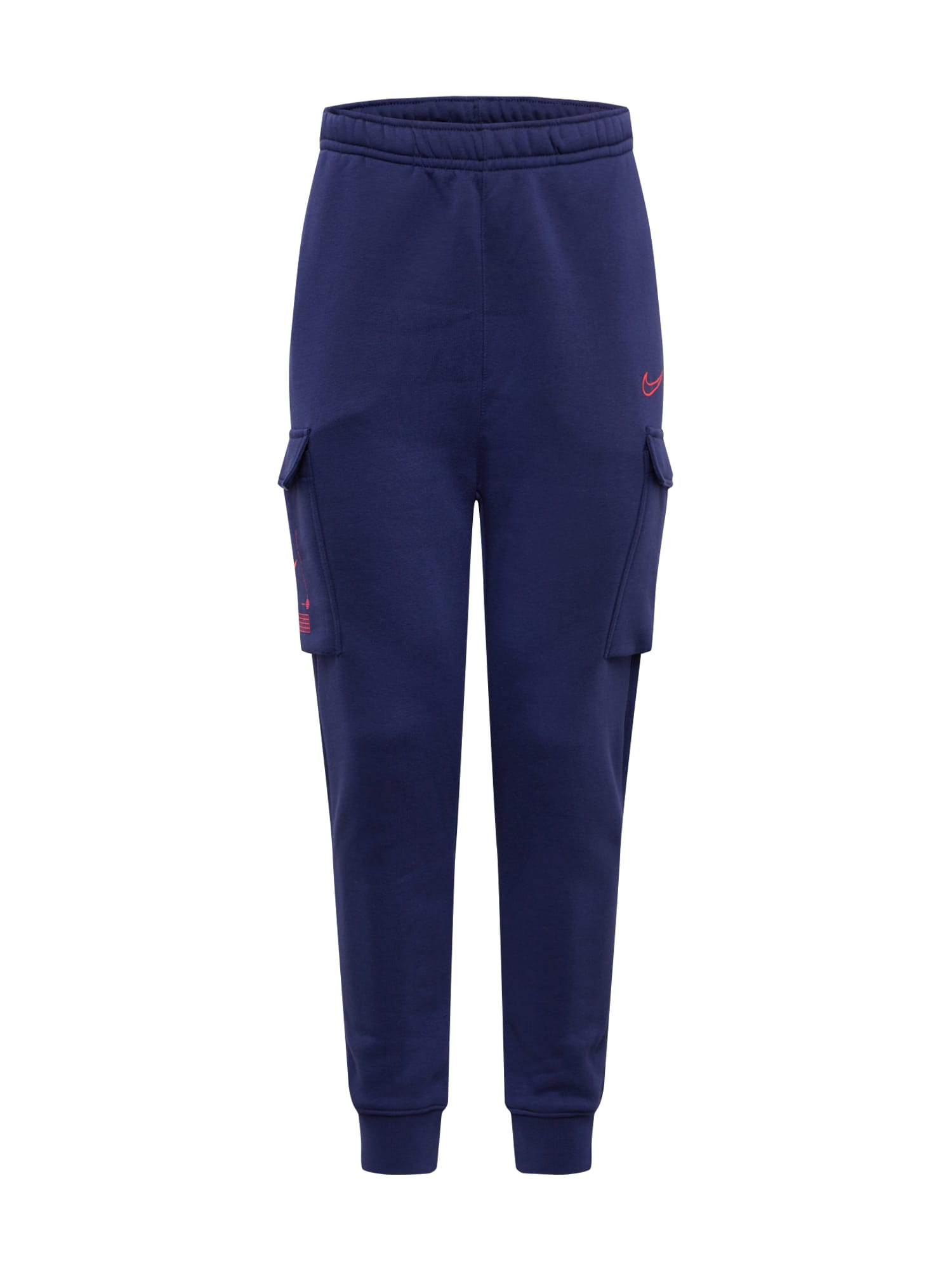 Nike Sportswear Laisvo stiliaus kelnės tamsiai mėlyna