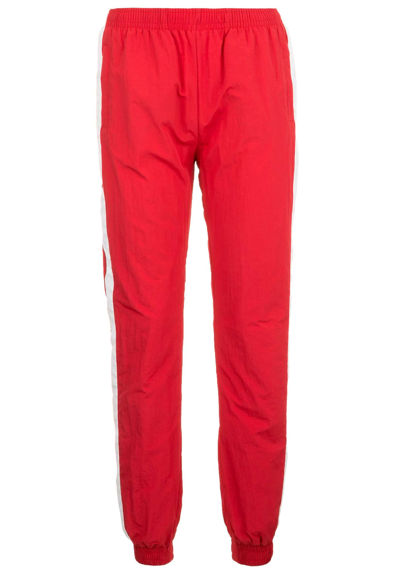 Urban Classics Kelnės balta / ugnies raudona