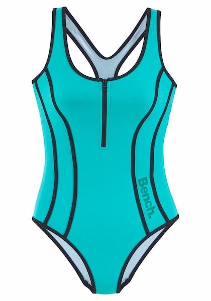 Bademode für Frauen - BENCH Badeanzug blau  - Onlineshop ABOUT YOU