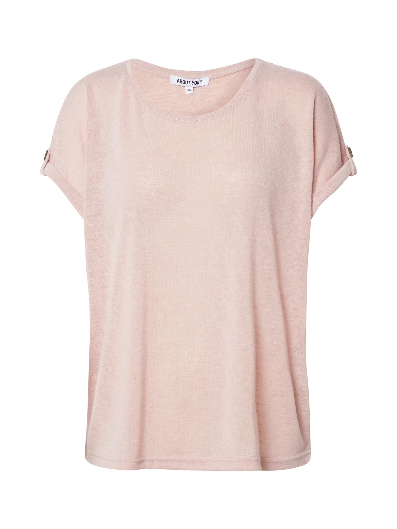ABOUT YOU Marškinėliai 'Kaili' rožinė / rožių spalva