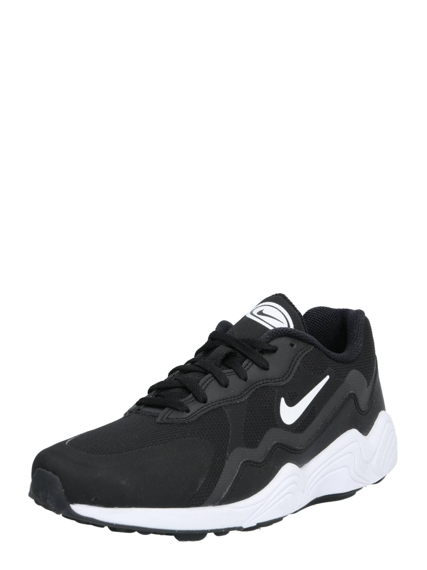 NIKE Sportiniai batai 'ALPHA LITE' juoda / balta