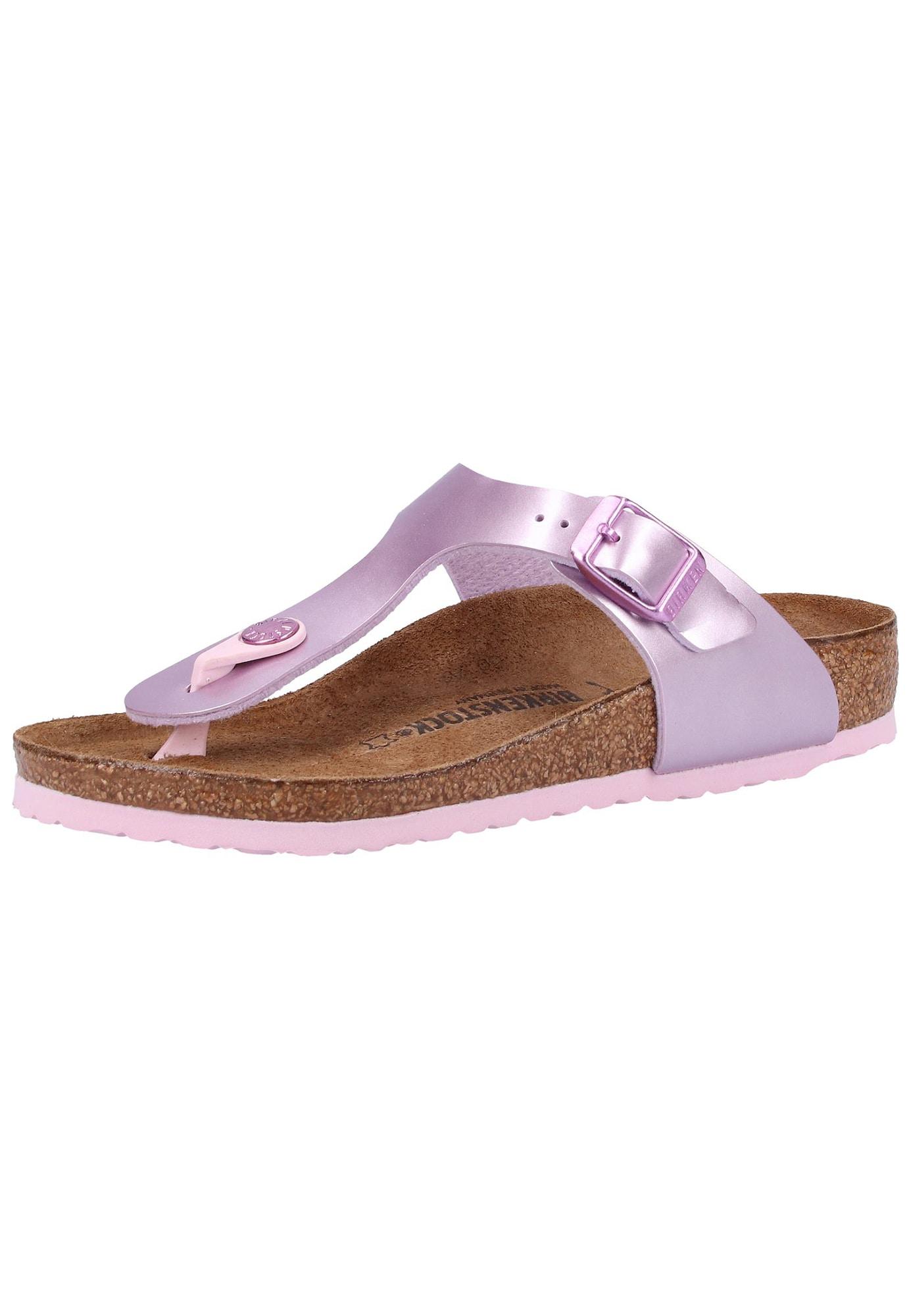 BIRKENSTOCK Sandále  fialová