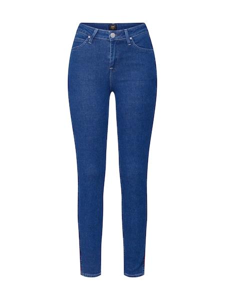 Hosen - Jeans 'Scarlett Piping' › Lee › blue denim  - Onlineshop ABOUT YOU