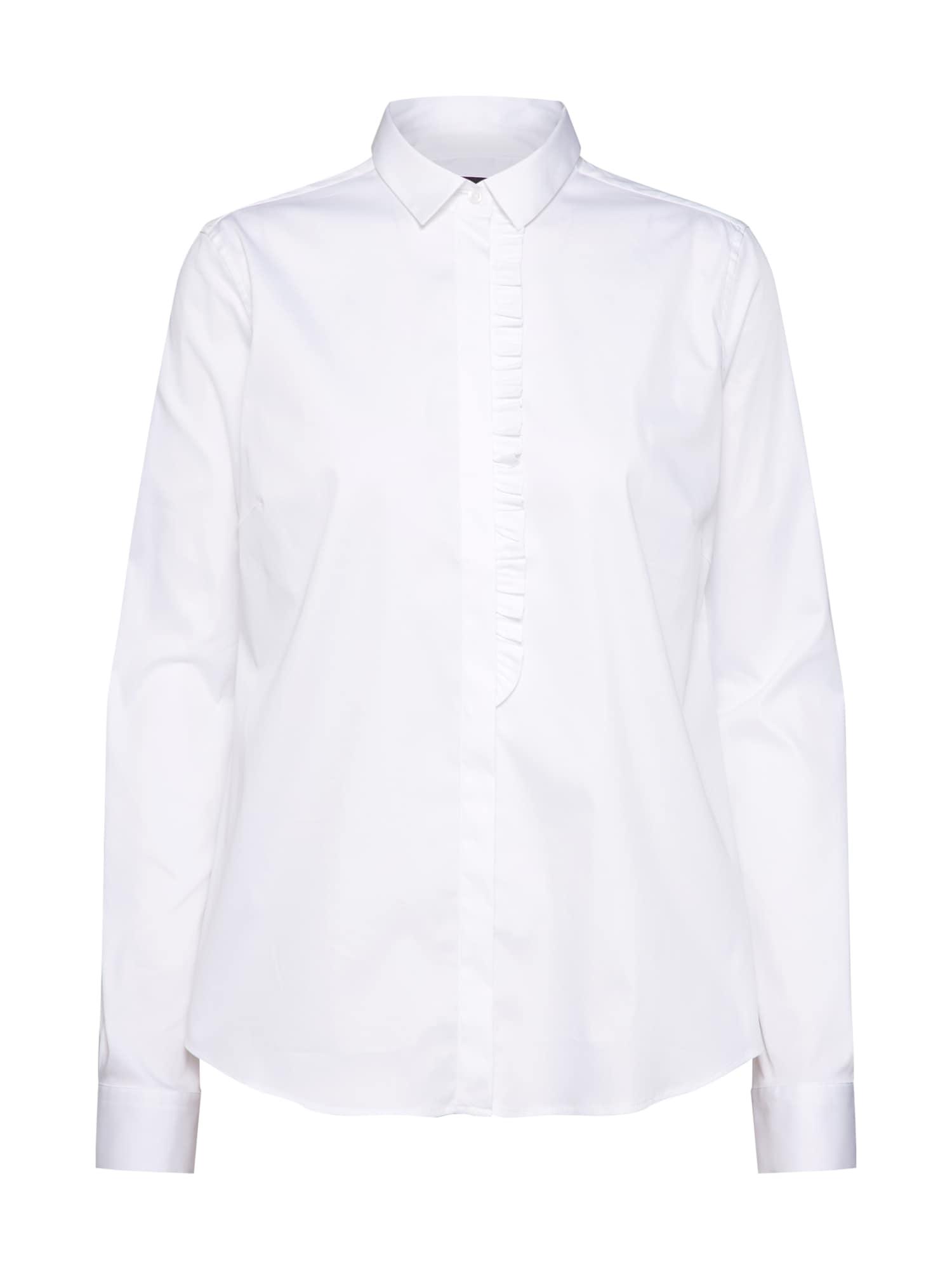 Halenka Tilda Frill Shirt bílá MOS MOSH