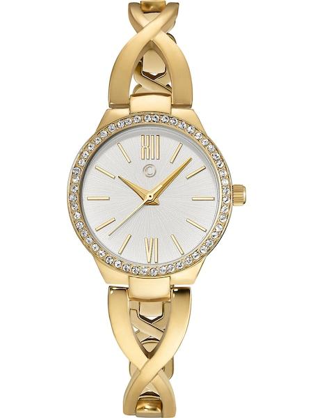 Uhren für Frauen - C Collection Uhr gold weiß  - Onlineshop ABOUT YOU
