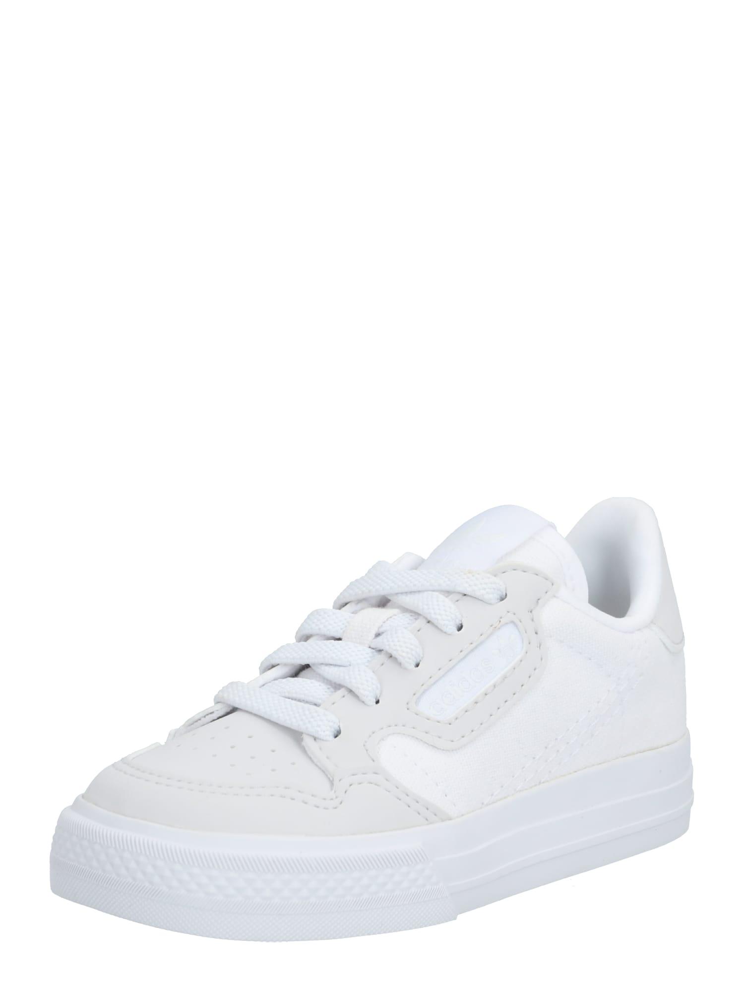 ADIDAS ORIGINALS Tenisky  biela / svetlosivá