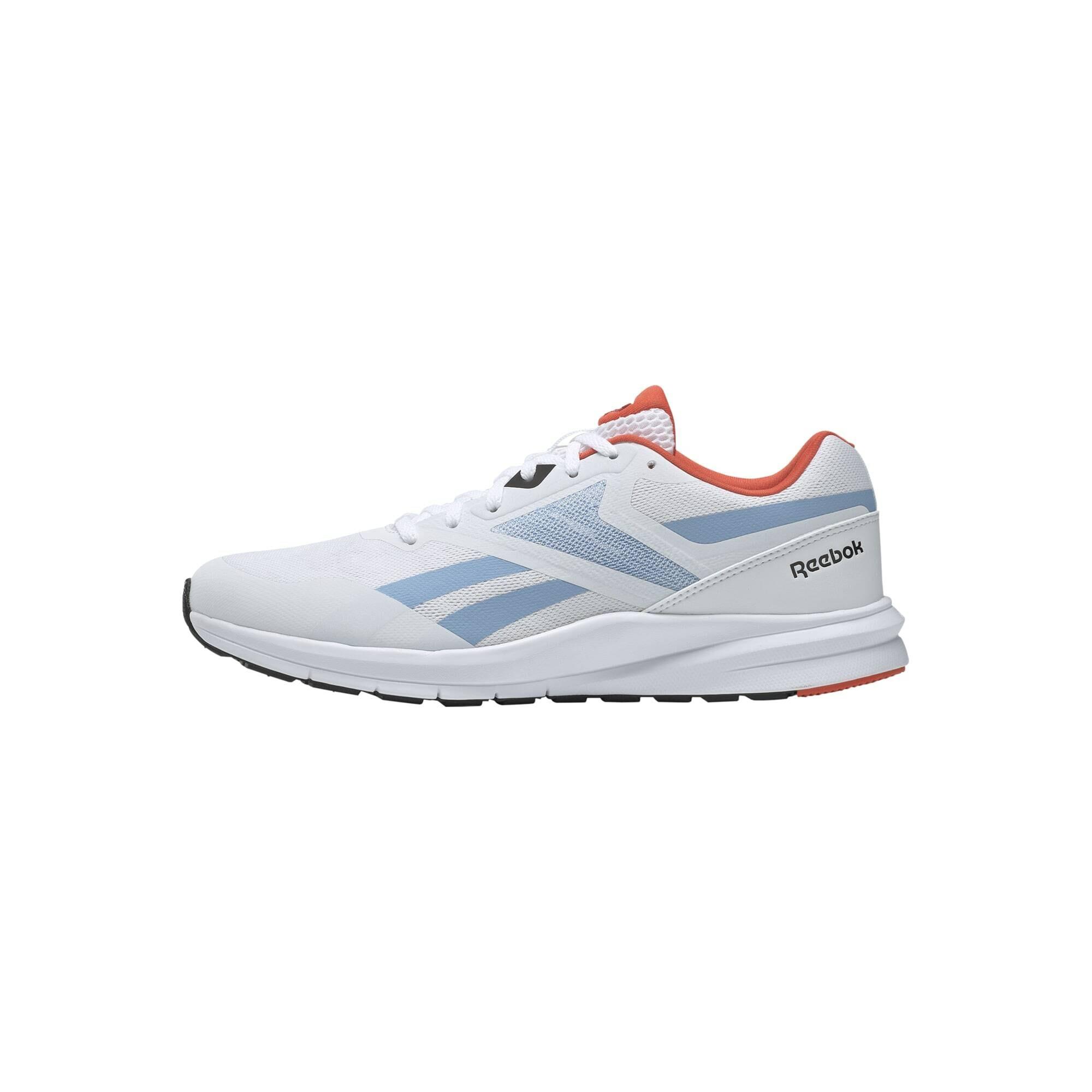 REEBOK Bėgimo batai balta / mėlyna dūmų spalva / koralų splava
