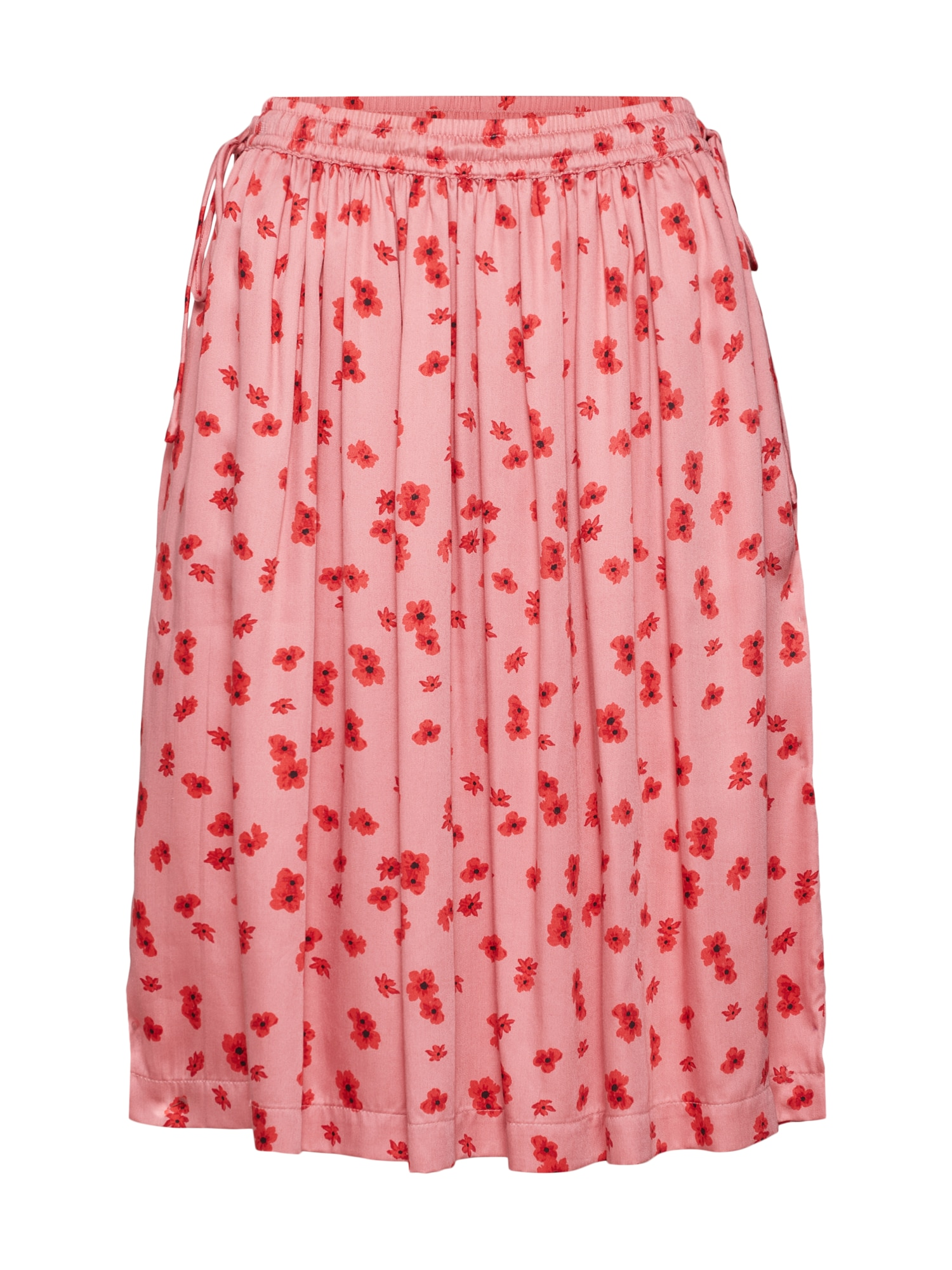 Sukně Anemone Nor Skirt AOP pink MOSS COPENHAGEN