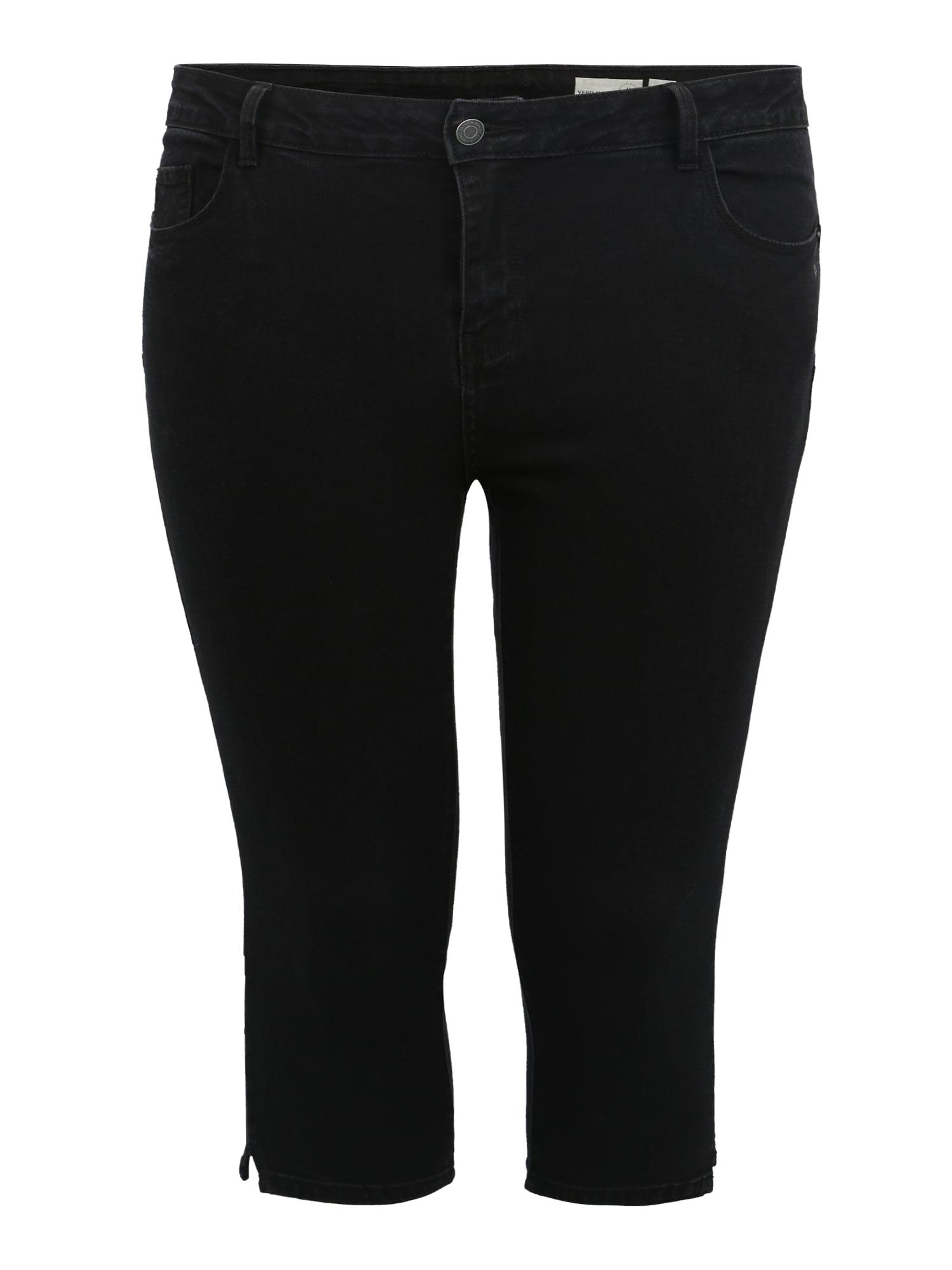 Džíny HOT SEVEN černá Vero Moda Curve