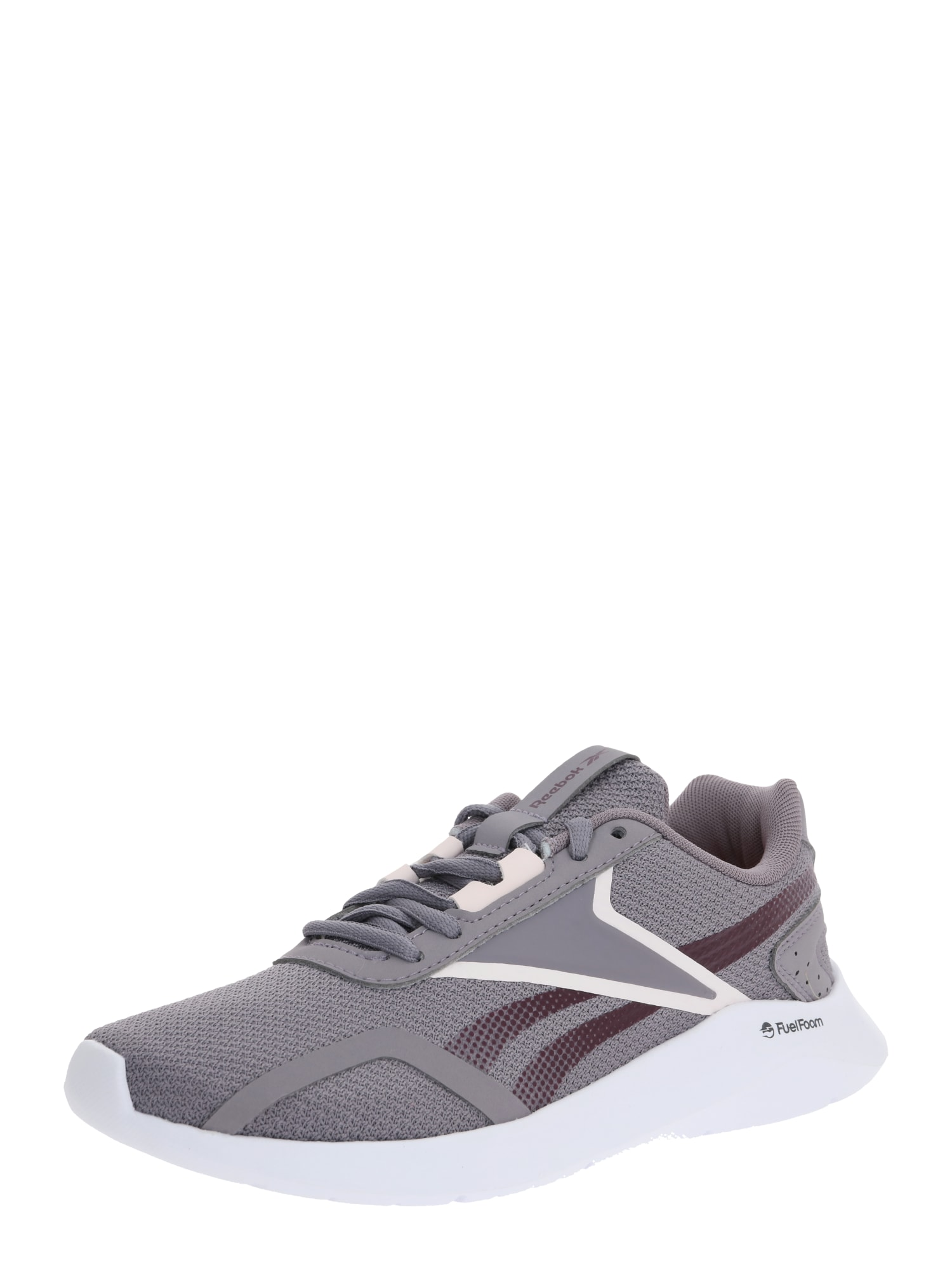REEBOK Bežecká obuv  tmavofialová / sivá