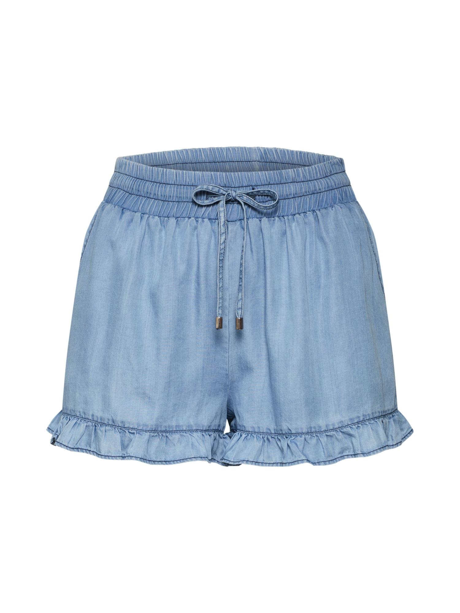 ABOUT YOU Kelnės 'Fabia' tamsiai (džinso) mėlyna