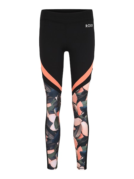 Hosen - Sporthose 'LE BY TH SLOPES J NDPT' › Roxy › schwarz dunkelblau orange  - Onlineshop ABOUT YOU