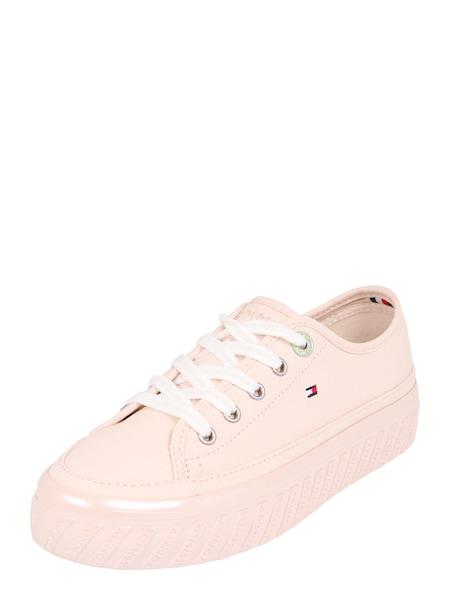 Sneakers für Frauen - Sneaker 'OUTSOLE DETAIL FLATFORM SNEAKER' › Tommy Hilfiger › rosa  - Onlineshop ABOUT YOU